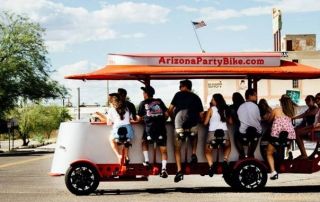 Arizona Party Bike manufactured by Pedal Crawler
