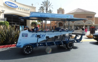 TelCel America uses a Pedal Crawler party bike for experiential marketing in El Paso